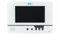 Видеодомофон RVi-VD1 LUX белый в комплекте с вызывной панелью RVi-305