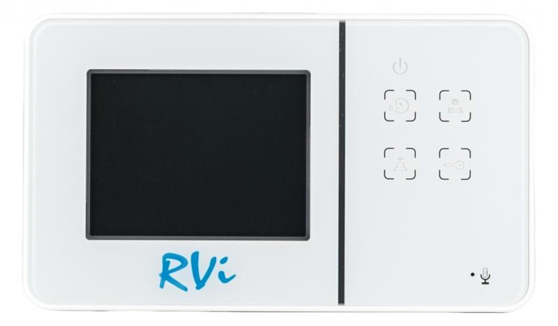 Видеодомофон RVi-VD1 mini (белый) с вызывной панелью RVi-305