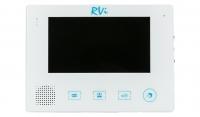 Видеодомофон RVi-VD2 LUX (белый) с вызывной панелью RVi-305