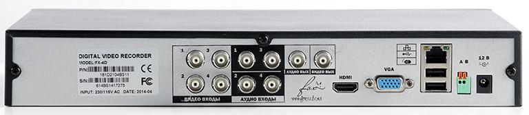 Аналоговый видеорегистратор Fox FX-4D